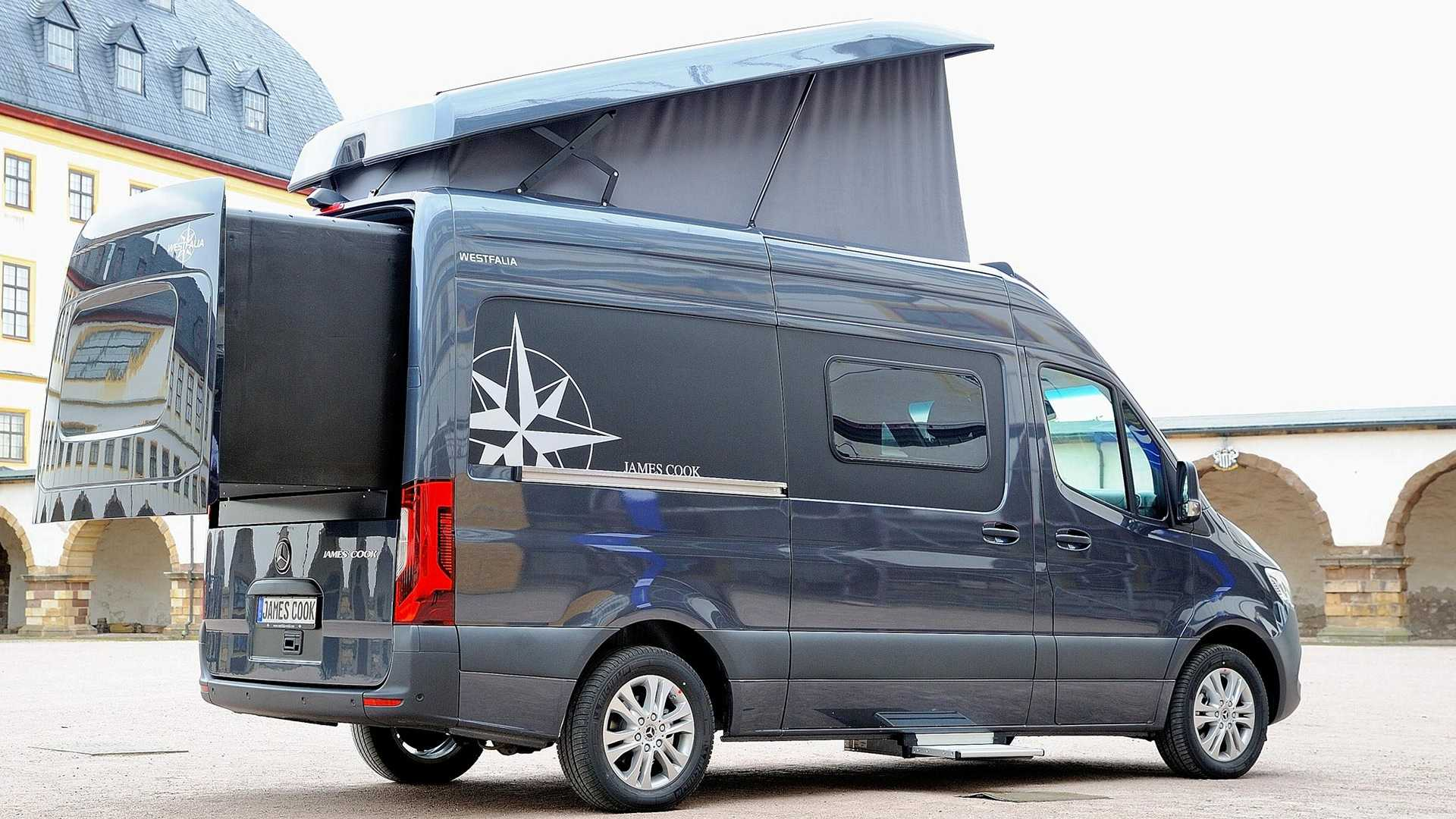 Westfalia James Cook: la Mercedes-Benz Sprinter de lujo
