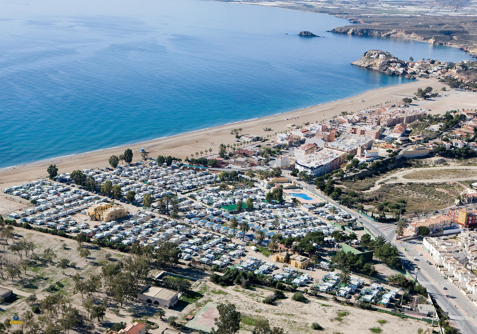 Murcia, Spain: Anger at motorhome campers in Bolnuevo