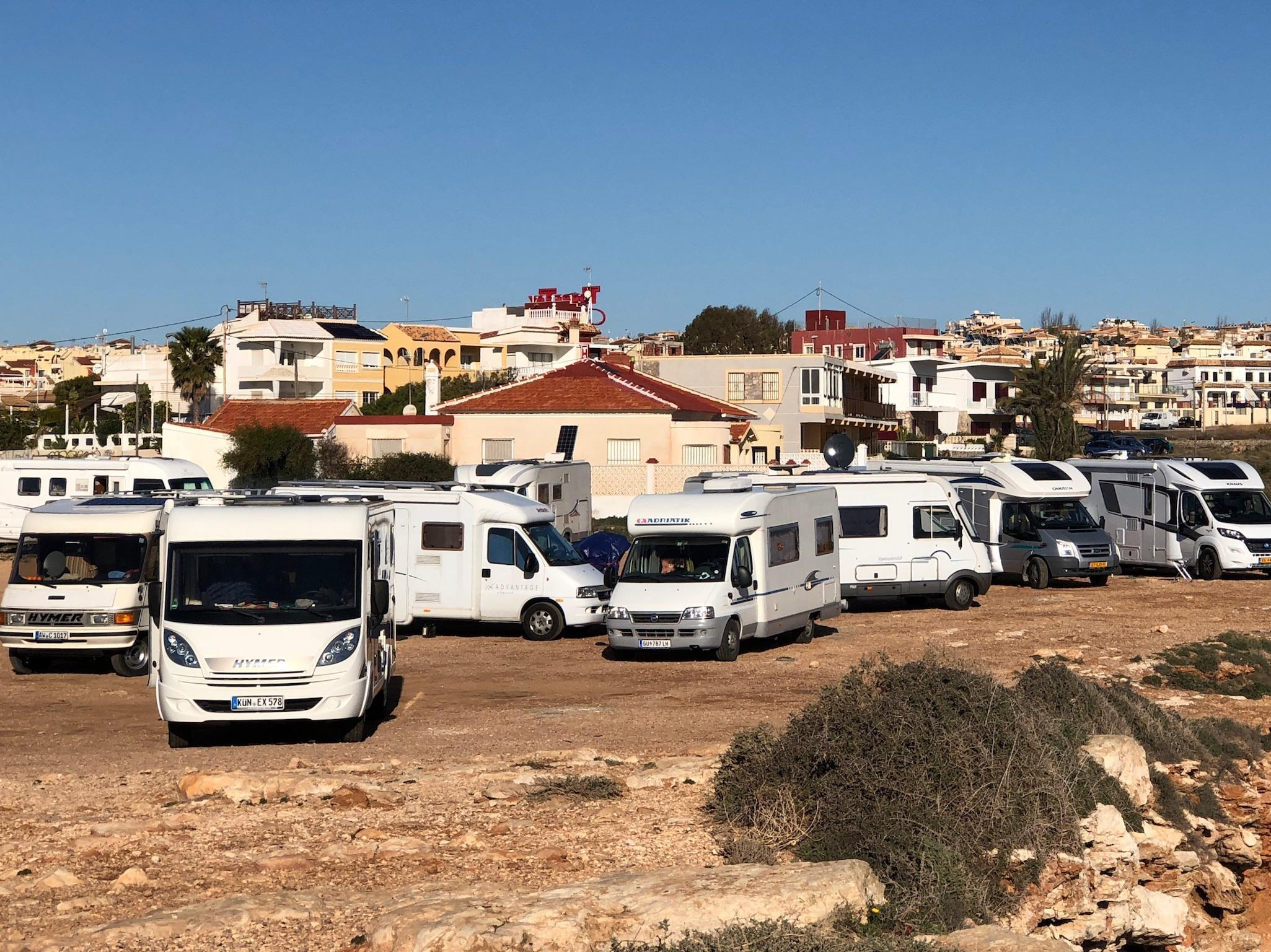 Torrevieja prohibits motorhome parking on its beaches
