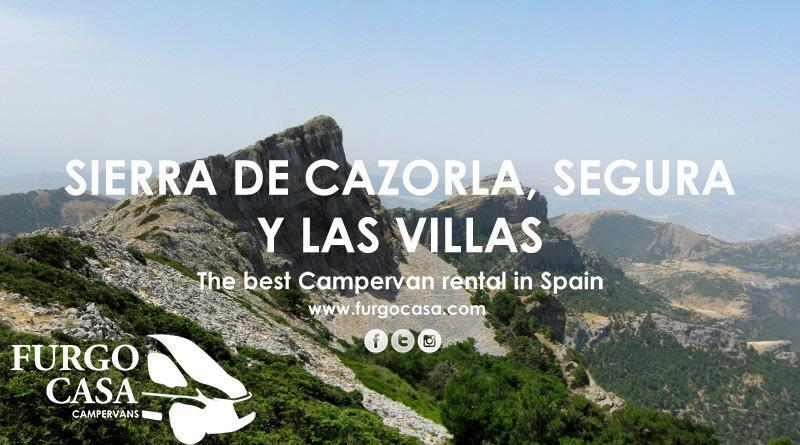 "Hire a Campervan and visit ""la Sierra de Jaen"", one of the Spain´s natural treasures"
